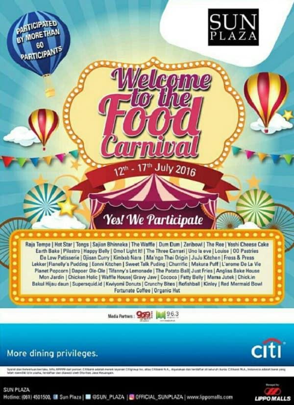 Sun Plaza Medan Food Carnival