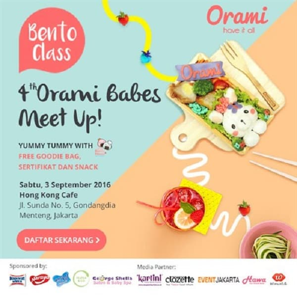 Bento Class: 4th Orami Babes Meet Up!