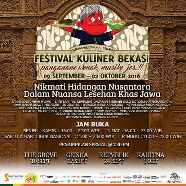 Festival Kuliner Bekasi