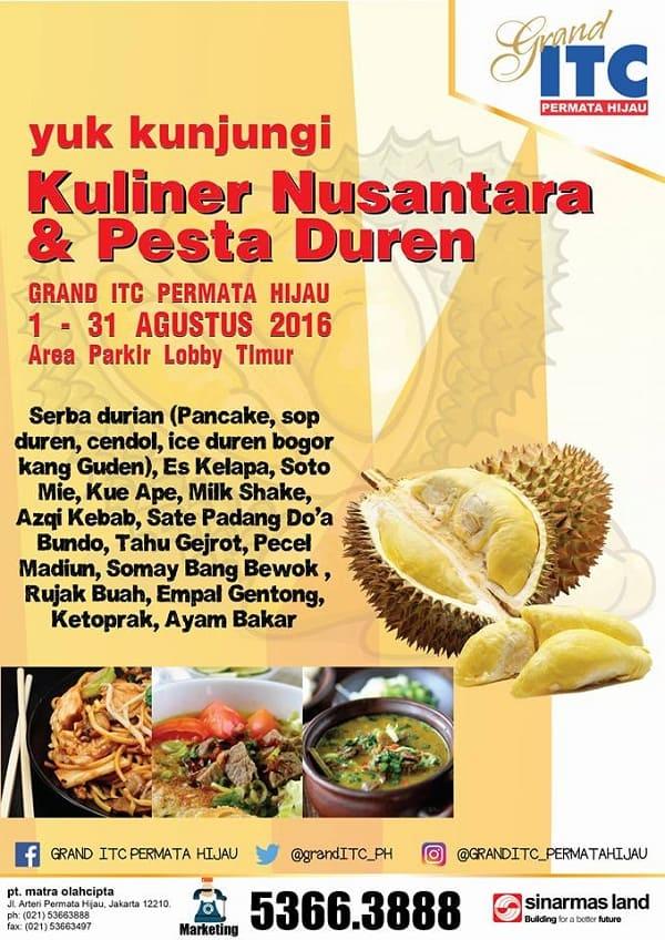 Kuliner Nusantara & Pesta Duren