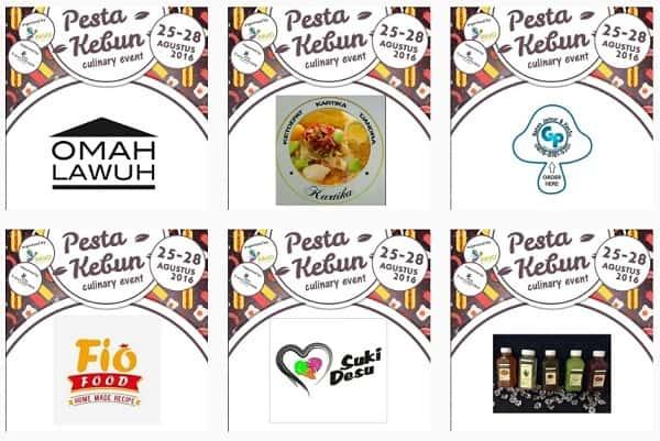 Pesta Kebun Culinary Event