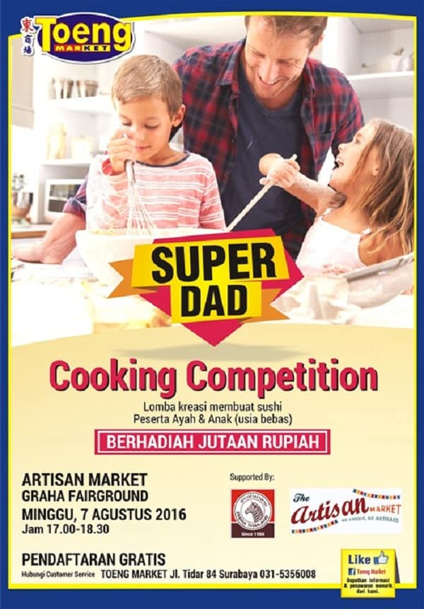 Super Dad Cooking Competition