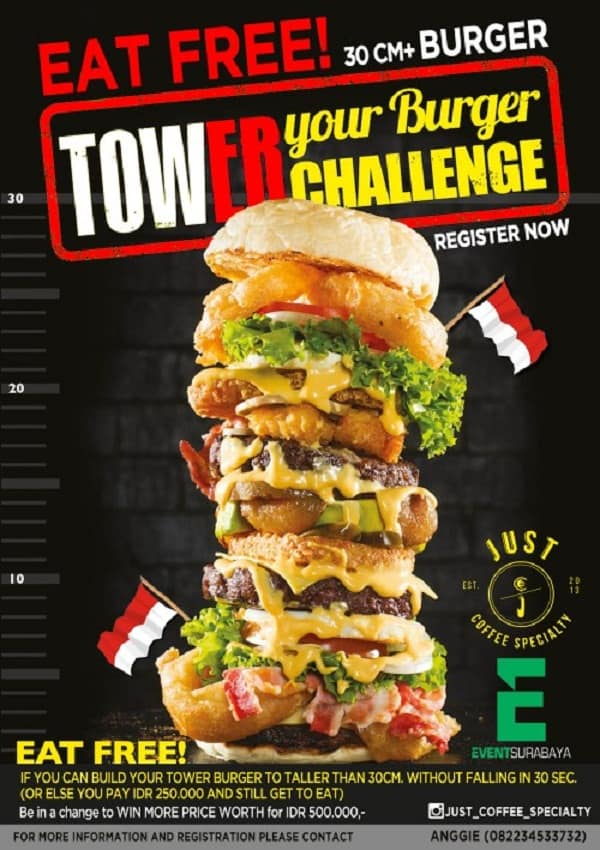 Tower Your Burger Challenge