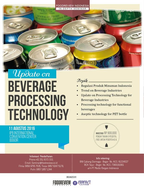 Update on Beverage Processing Technology