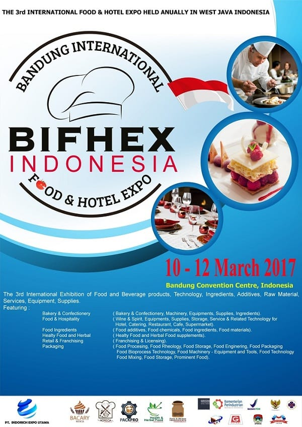 BIFHEX Indonesia – Bandung International Food & Hotel Expo