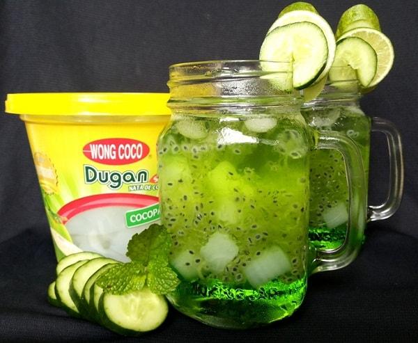 Es Melon Selasih Nata De Coco