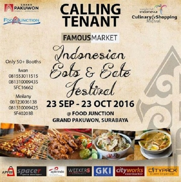Famous Market: Indonesian Soto & Sate Festival