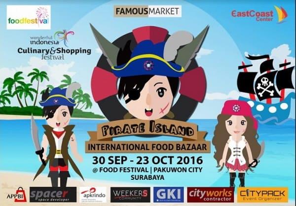 Famous Market: Pirate Island International Food Bazaar