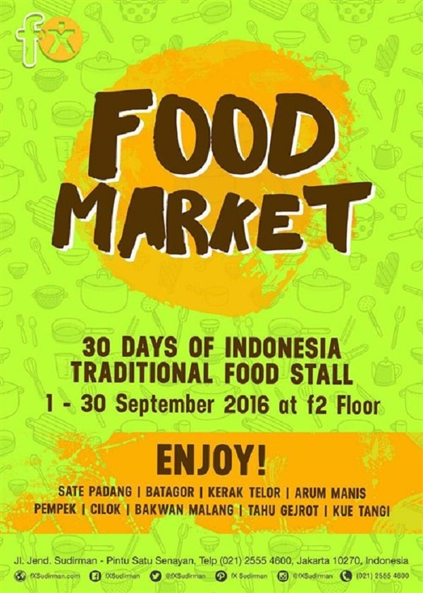Food Market FX Sudirman