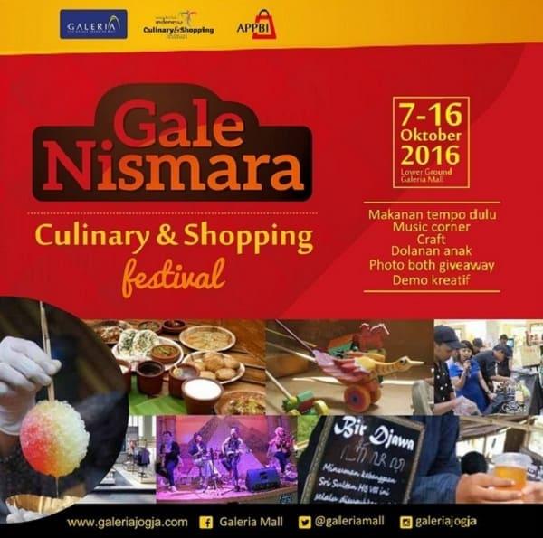 Gale Nismara Culinary & Shopping Festival
