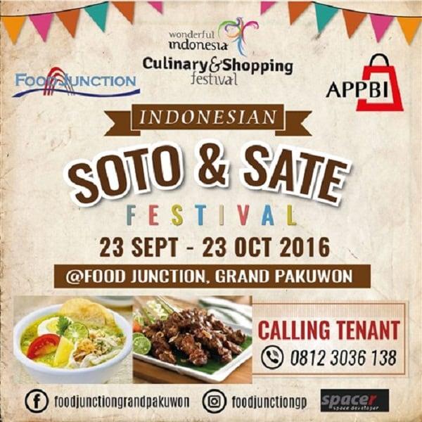 Indonesian Soto & Sate Festival