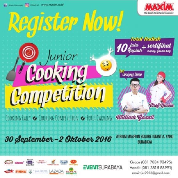 Maxim Junior Cooking Competition