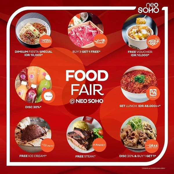Neo Soho Promo Food Fair