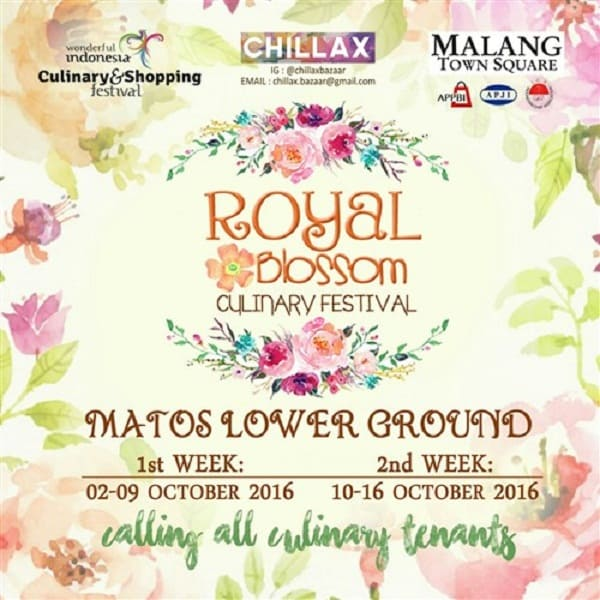 Royal Blossom Culinary Festival