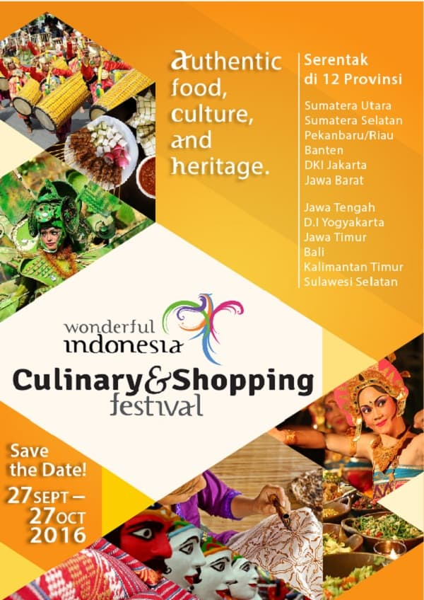 Wonderful Indonesia Culinary dan Shopping Festival