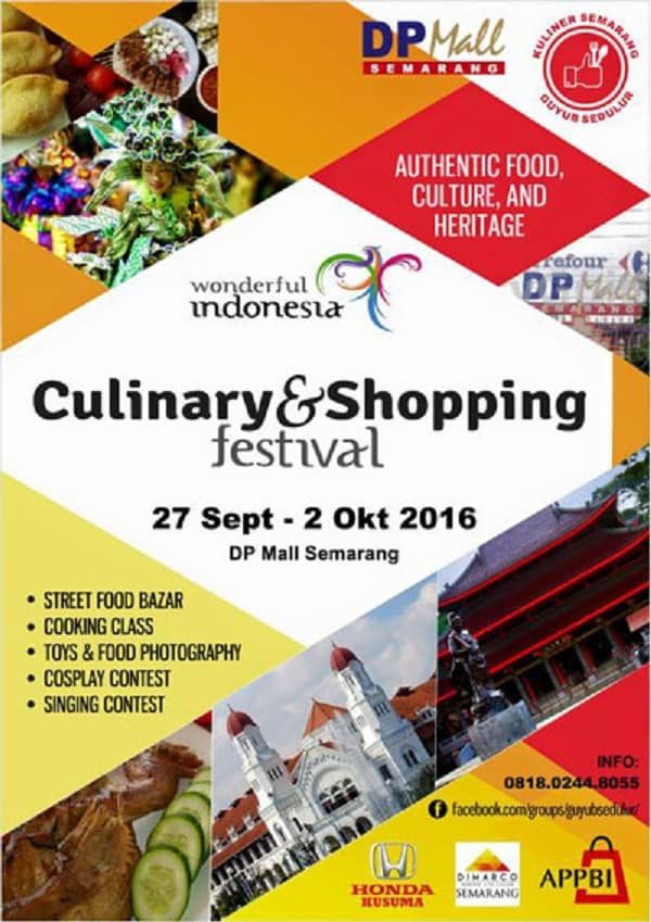 Culinary & Shopping Festival di DP Mall