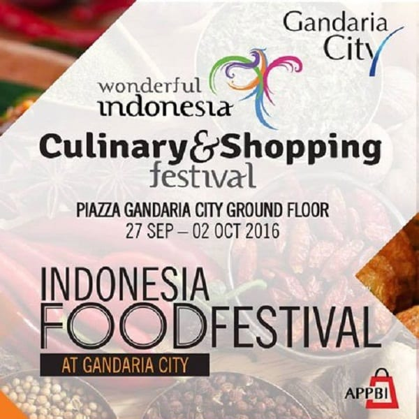 Culinary & Shopping Festival di Gandaria City
