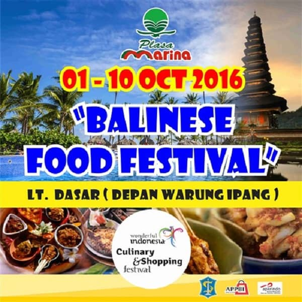 Balinese Food Festival