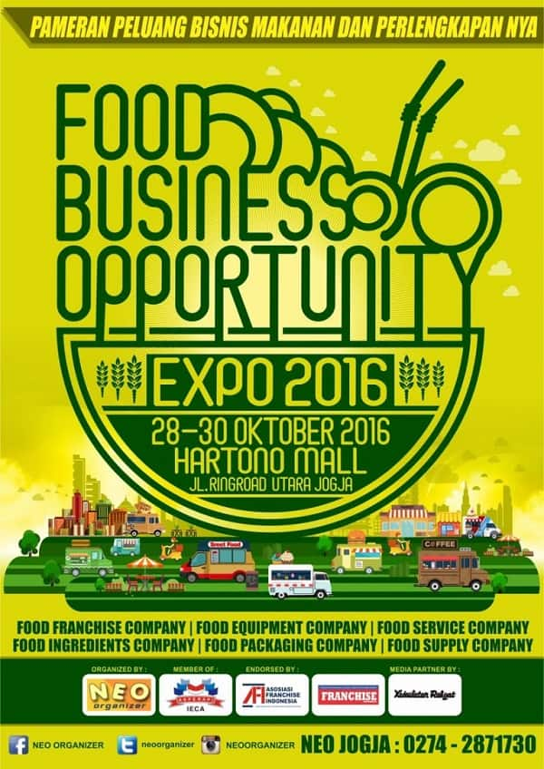 Food Business Opportunity Expo 2016