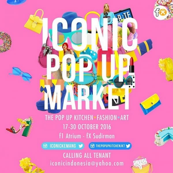 Iconic Pop Up Market