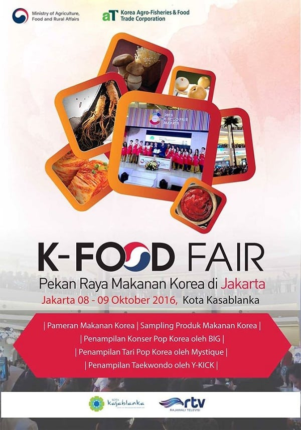 K-Food Fair: Pekan Raya Makanan Korea di Jakarta