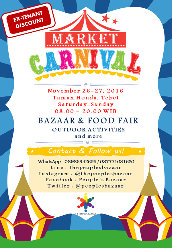 Market Carnival: Bazaar & Food Fair Outdoor Activities
