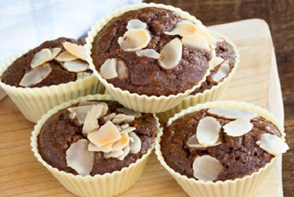 Resep Membuat Chocolate Almond Muffin