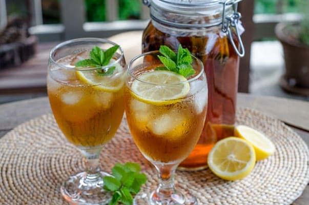 Resep Membuat Ice Mint Tea