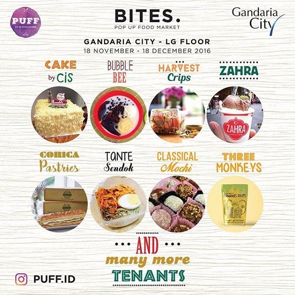 BITES Pop Up Food Market