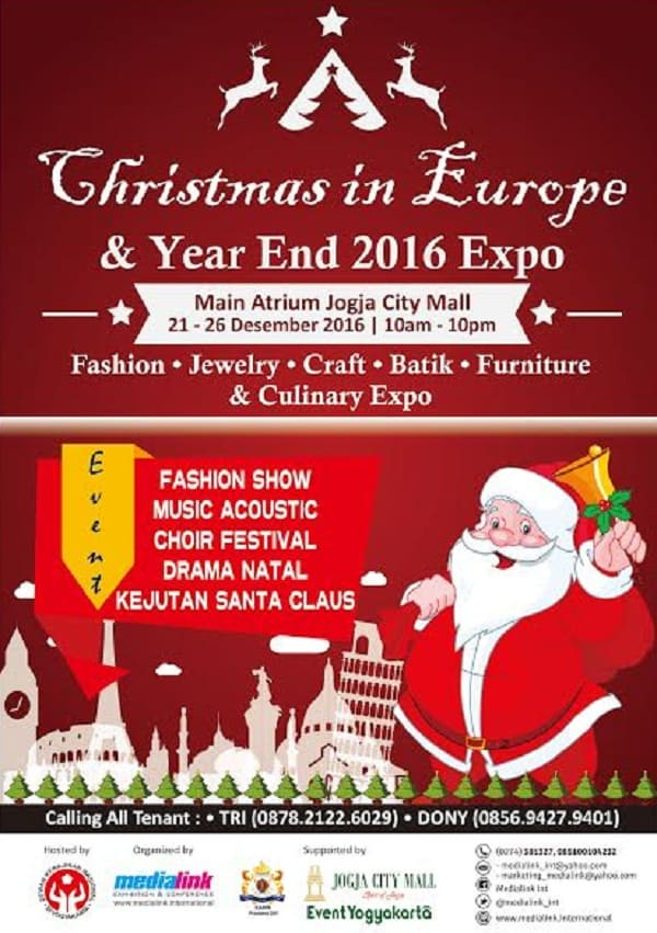 Christmas in Europe and Year End 2016 Expo