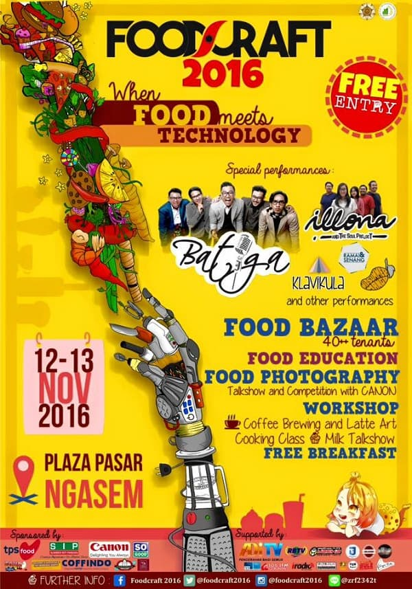 Foodcraft 2016: When Food Meets Technology
