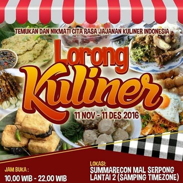 Lorong Kuliner