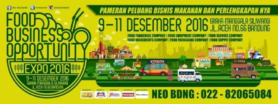 Bandung Food Business Opportunity Expo 2016