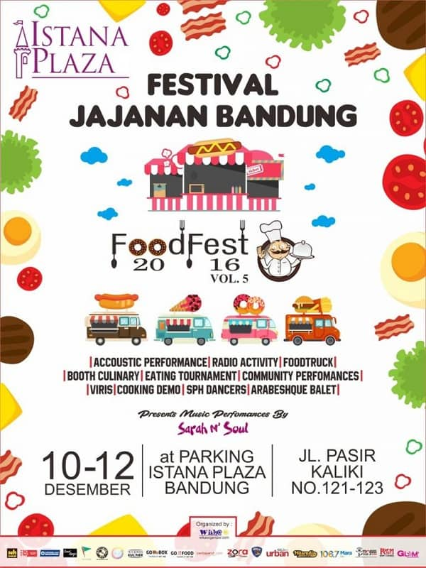 Festival Jajanan Bandung – Food Fest 2016 Vol. 5