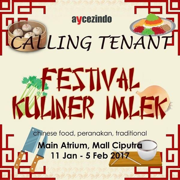 Festival Kuliner Imlek