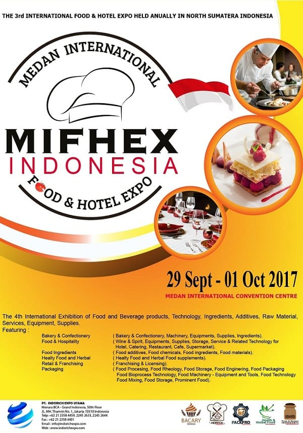 MIFHEX Indonesia – Medan International Food & Hotel Expo