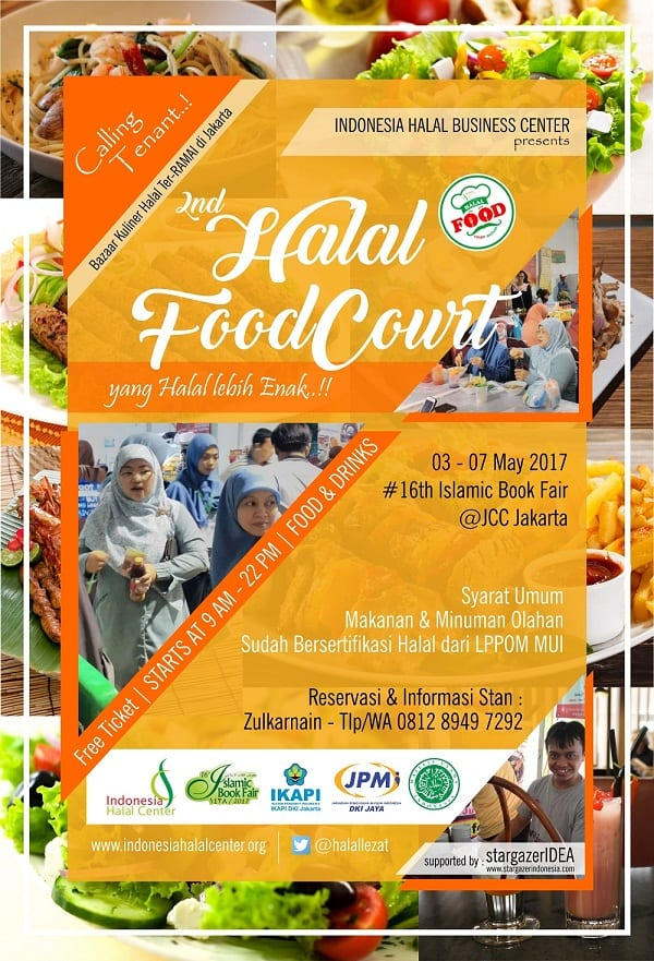 2nd Halal Food Court Islamic Book Fair #16