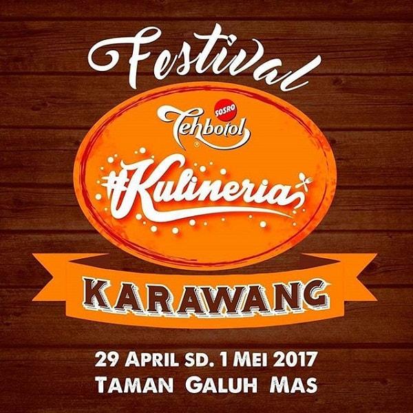 Kulineria Karawang: Festival Jajanan Enak 2017