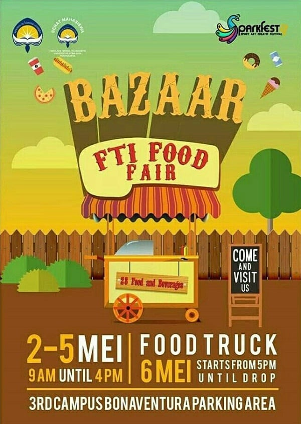 Bazaar FTI Food Fair 2017