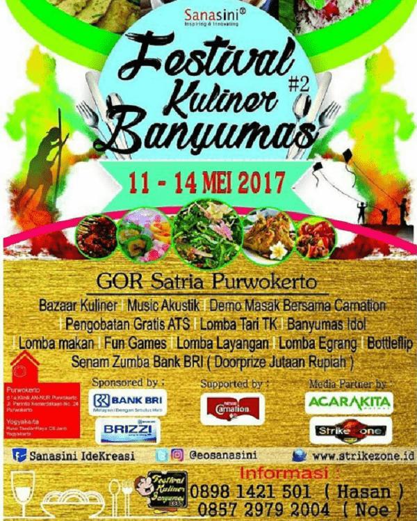 Festival Kuliner Banyumas 2017