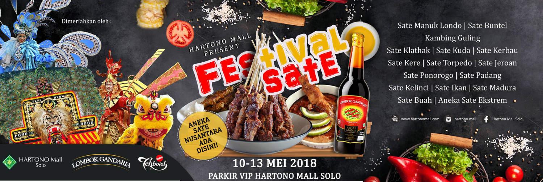 Festival Sate Hartono Mall Solo