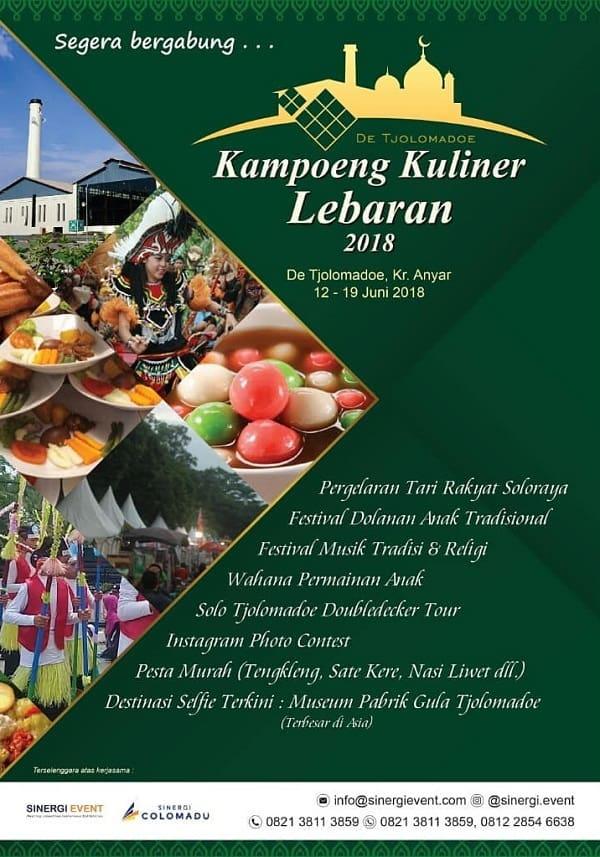 Kampoeng Kuliner Lebaran 2018