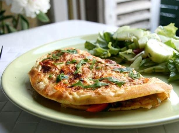 Santap Sahur: Omelet Sayur