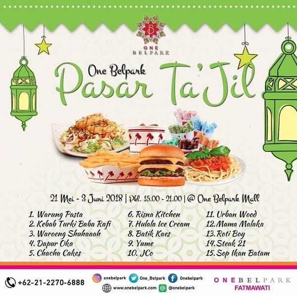 One Belpark Pasar Ta'jil