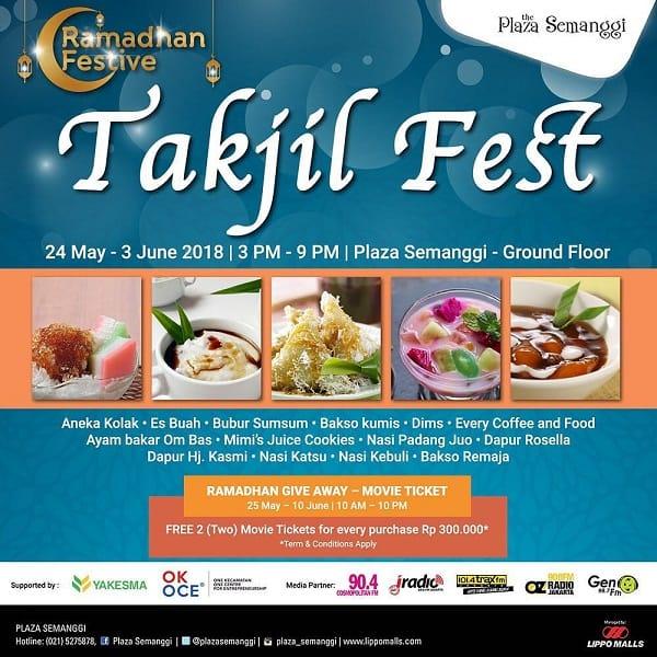 Ramadhan Festive: Takjil Fest