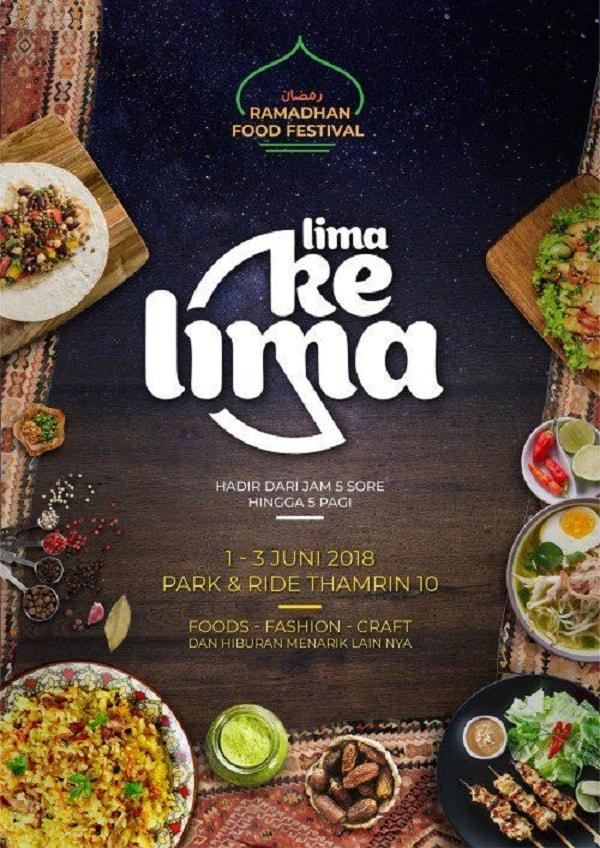 Ramadhan Food Festival Lima Ke Lima