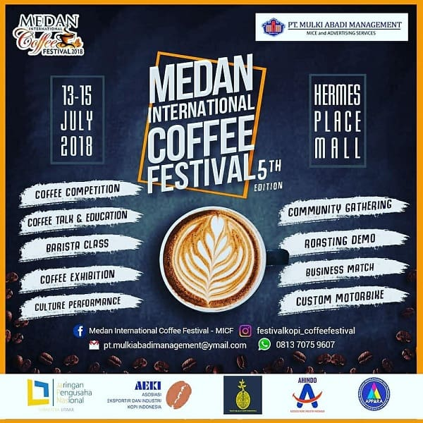 Medan International Coffee Festival 5th Edition