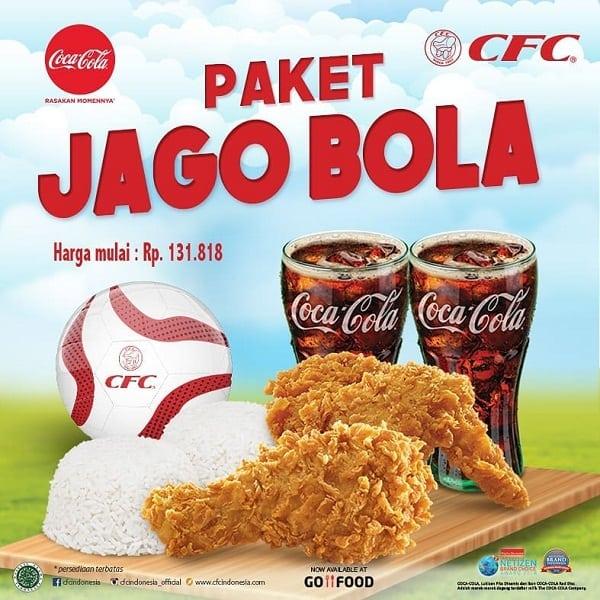 CFC Promo Paket Jago Bola Harga Mulai Rp. 131.818,-