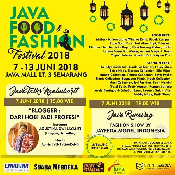 Java Food & Fashion Festival 2018