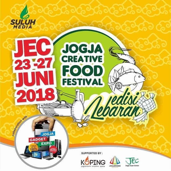 Jogja Creative Food Festival 2018